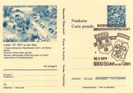 X84  Autriche - Internationale Städtepartnerschaft Sundbyberg / St. Veit An Der Glan   -  15/7/1971   TTB - Europäischer Gedanke