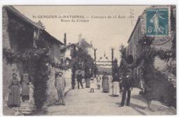 Saône-et-Loire - Saint-Gengoux-le-National - Concours Du 25 Août 19. - Route Du Creusot - France