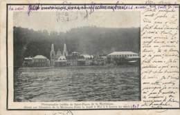 France - Martinique - Vue De Saint-Pierre Avant L'éruption Du 8 Mai 1902 - Martinique