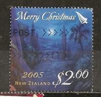 Nouvelle Zelande New Zealand 2005 Noel Christmas Obl - Used Stamps