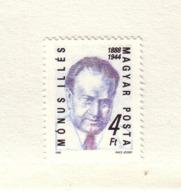 HONGRIE 1988  I.MONUS  Yvert: 3156  NEUF MNH** - Unused Stamps