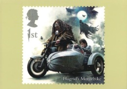 United Kingdom UK 2018 PHQ Card - Harry Potter - Hagrid's Motorbike - Covers & Documents