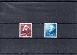 España Nº 1119-20 Ramon Y Cajal Serie Completa En Nuevo - España