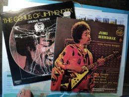 JIMI HENDRIX. PAIRE DE 33 TOURS. 1972 / 1975 MUSIDISC 30 CV 1331 / MFP 2M 046 95297. RED HOUSE / SWEET THANG / BLUE BLU - Rock