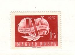 HONGRIE 1957 CONGRES DES SYNDICATS  Yvert: 1227  NEUF MNH** - Nuovi