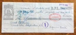 CAMBIALE   AMG FTT  LIRE DODICI   TRIESTE   IN FILIGRANA CMF ANNO 1954   FIRMEA AUTOGRAFA - 7. Triest