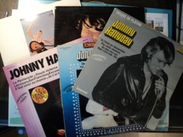 JOHNNY HALLIDAY. LOT DE CONQ 33 TOURS. 1970 / 1982 IMPACT 6886 158 / 201 / 104 / PHILIPS 6397 018 / 6395 228.  DISQUE D - Other - French Music