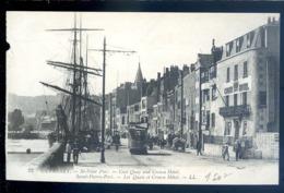 Cpa De Guernesey Guernsey St Peter Port -- Saint Pierre Port , Les Quais Et Crown Hôtel     LZ52 - Guernsey