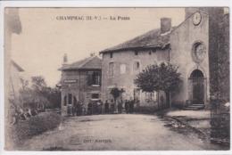 87 CHAMPSAC La Poste , Circulée En 1932 - France