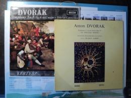 ANTON DVORAK. PAIRE DE 33 TOURS. ANNEES 60 / 70. DECCA SXL 6044 / MUSIDDISC 30 RC 814 SYMPHONIE 8 IN G MAJOR OP.88 / SC - Classical
