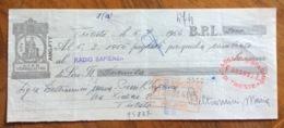 CAMBIALE   AMG FTT  LIRE VENTIQUATTRO  TRIESTE   IN FILIGRANA CMF ANNO 1953   FIRME AUTOGRAFE - 7. Triest