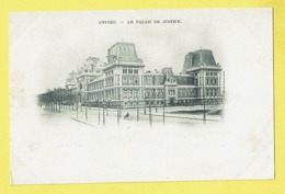 * Antwerpen - Anvers - Antwerp * Le Palais De Justice, Justitiepaleis, Justice Court, Old, Rare, Unique, Prachtkaart - Antwerpen