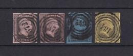 Preussen - 1850 - Michel Nr. 2/4 - Gest. - 80 Euro - Preussen