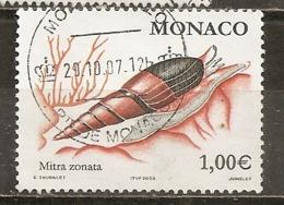 Monaco 2002 Coquillle Shell Obl - Gebruikt