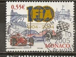 Monaco 2005 FIA Raceauto's Obl - Used Stamps