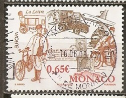 Monaco 2008 Europa Transportation Obl - Used Stamps