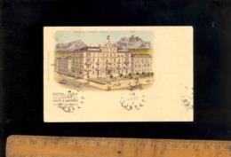 LUZERN LUCERNE : Hotel JURA Pilatustrasse G Haas Ochsner Propriétaire  1911 - LU Lucerne