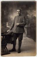 VECCHIA FOTOGRAFIA - OLD PHOTO - MILITARI - ALPINI - Vedi Retro - Guerre, Militaire