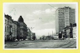* Brussel - Bruxelles - Brussels * (Nels, Photothill) Virage Boulevard Bisschoffsheim, Tram, Vicinal, Volkswagen Kever - Brussel (Stad)