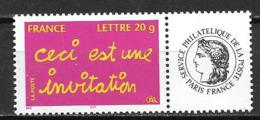 France 2005 N° 3760A Neuf** Avec Vignette à La Faciale - Personalisiert