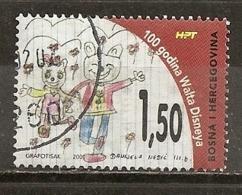 Bosnia & Herzegovina 2001 Walt Disney Dessin Anime Cartoon Obl - Bosnia And Herzegovina