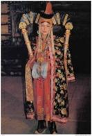 Carte Postale Asie  Mongolie  Jeune Fille  Mongole Trés Beau Plan - Mongolie
