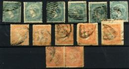 Antillas Española Nº 14, 17. Años 1868/69 - España