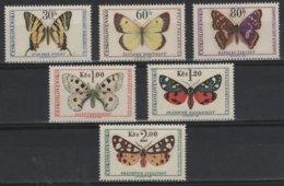 PAP 3 - TCHECOSLOVAQUIE N° 1483/88 Neufs** Papillons - Tchécoslovaquie