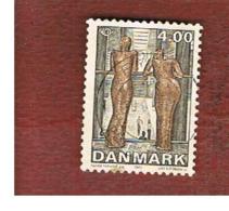 DANIMARCA (DENMARK)  -   SG 1258   -  2002  NORDEN: MODERN ART               -   USED ° - Denmark