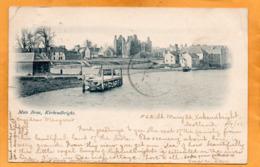Kirkcudbright UK 1901 Postcard - Kirkcudbrightshire
