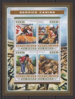 SS028 2016 NIGER FAUNA PETS DOGS CANINE SERVICE 1KB MNH - Honden