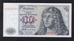 Deutsche Bundesbank 10 DM 1960 - [ 7] 1949-… : FRG - Fed. Rep. Of Germany