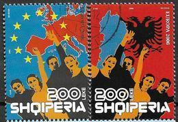 2006 Albanien Mi. 3142-3 Used  Europa : Integration - Europa-CEPT