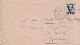 ALGERIE - PHILIPPEVILLE - CONSTANTINE - DAGUIN - UN SEUL BUT LA VICTOIRE - 23-10-1943. - Algeria (1924-1962)