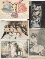 LOT DE 500 CARTES FANTAISIES DIVERS A VOIR - Postcards