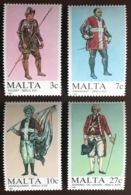 Malta 1987 Military Uniforms MNH - Malte