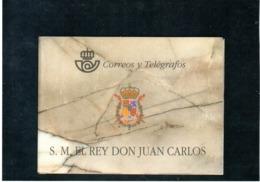 España Nº 3544C Carnet De Juan Carlos, Serie Completa En Nuevo 180 € - Blocs & Hojas