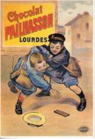 Lot De 8 Cartes Modernes (années 90). Reproduction Affiche Sur Le Chocolat - Pubblicitari