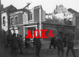 LICHTERVELDE Bombardement Callewaert Accordeon 1917 Luchtaanval RFC Duitse Bezetting Flandern - Lichtervelde
