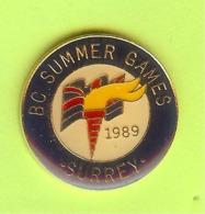 Pin's B.C. Summer Games Surrey 1989 - 7HH27 - Badges