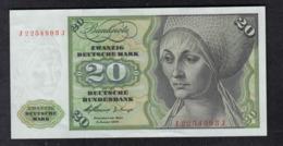 Deutsche Bundesbank 20 DM 1960 - 20 Deutsche Mark