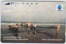 Indonesien - IND 223 THE FISHERMANS LIFE - 100 UNITS - Indonesië