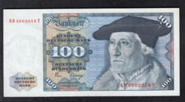 Deutsche Bundesbank 100 DM 1980 - [ 7] 1949-… : FRG - Fed. Rep. Of Germany