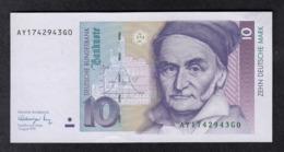 Deutsche Bundesbank 10 DM 1991 - [ 7] 1949-… : RFD - Rep. Fed. Duitsland