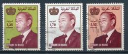 °°° MAROC - Y&T N°1106/163/192 - 1991/1994/1996 °°° - Marruecos (1956-...)