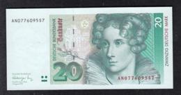 Deutsche Bundesbank 20 DM 1991 - [ 7] 1949-… : RFD - Rep. Fed. Duitsland