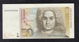 Deutsche Bundesbank 50 DM 1989 - [ 7] 1949-… : FRG - Fed. Rep. Of Germany