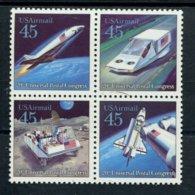 848364838 1989 SCOTT C125A POSTFRIS MINT NEVER HINGED EINWANDFREI (XX)  20TH UPU CONGRESS - FUTURISTIC MAIL DELIVERY - Air Mail