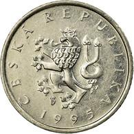 Monnaie, République Tchèque, Koruna, 1995, TTB, Nickel Plated Steel, KM:7 - Repubblica Ceca