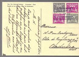 ½ + 1 ½ X 3 = 5 Cents Botanisch Congres 1935 (FI-10) - 1891-1948 (Wilhelmine)